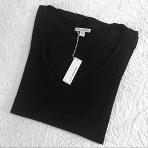 James Perse | Black Cotton tee